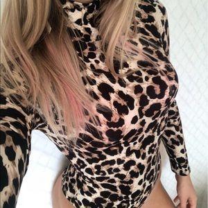 Tops - 🆕 Leopard Print Bodysuit
